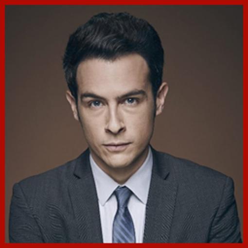 Headshot of John Boyd who plays FBI Special Agent James Aubrey on FOX's Bones