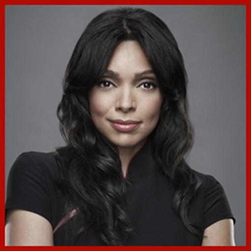 Headshot of Tamara Taylor who plays Dr. Cam Saroyan on Fox's Bones
