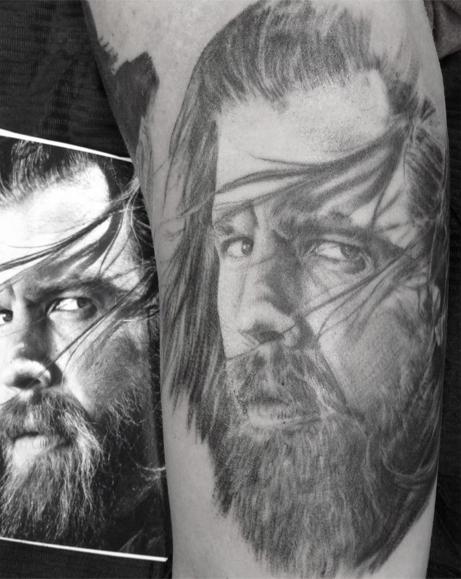 Ryan Hurst/Sons of Anarchy Tattoo